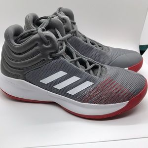 Adidas Spark Red/White Basketball Shoes